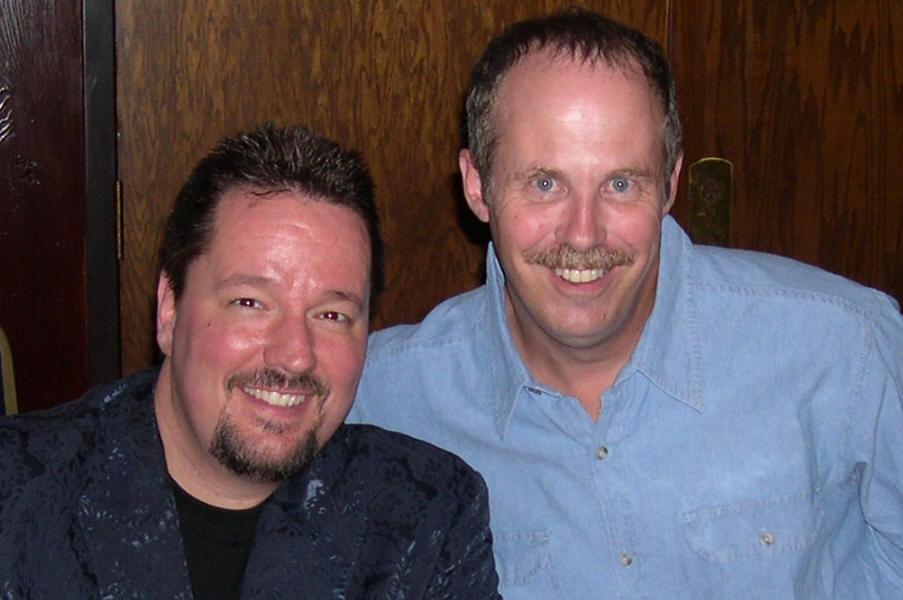 ventriloquists Terry Fator & Tom Crowl