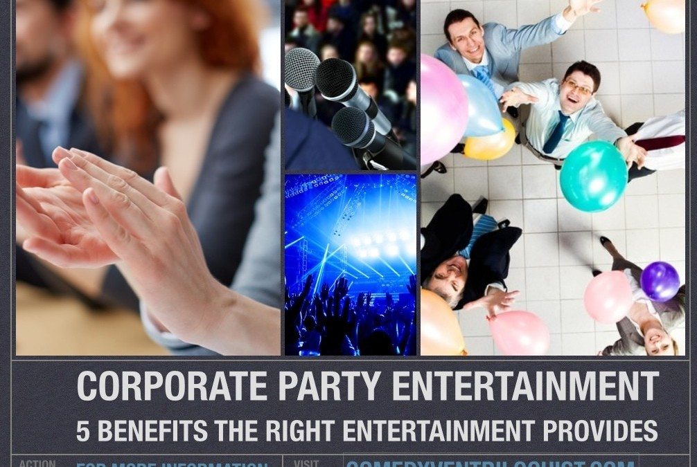 corporate party entertainment
