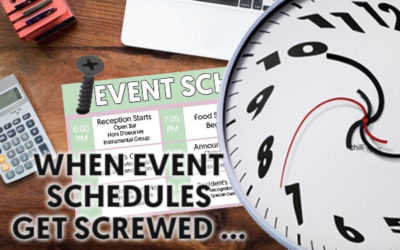 When Your Event Schedule Gets Screwed